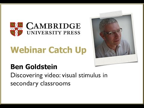 Discovering video: the role of visual stimulus in the secondary classroom – Ben Goldstein