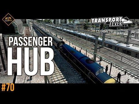 Let's spend $150M on a passenger hub | Transport Fever The Alps #70