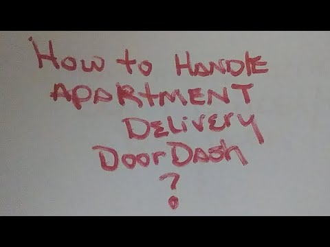 Doordash How To Deliver To Apartment Food Delivery