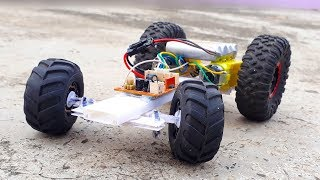 How to make Remote Control Tractor - Auto Steering