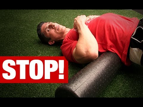 Never Foam Roll Your Lower Back! (HERE'S WHY)