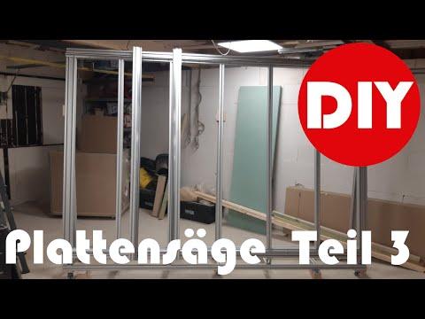 Plattensäge selber bauen Teil 3 DIY Werkstatt