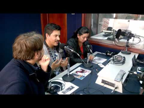 Entrevista La FM a Daniel Pesina en Bogotá!!