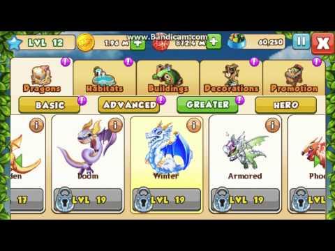 Dragon mania v4 0 0 (MOD Full coin và gems by luca)