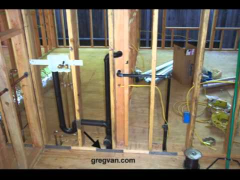 Rough Plumbing Pipe Protection Home Building Ideas YouTube