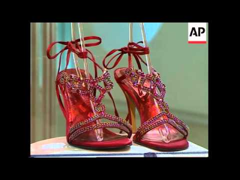Harrods sells world's most expensive shoes for £1million
