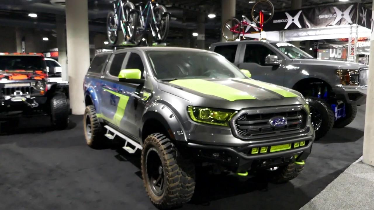 Custom New 2019 Ford Ranger Pickup Truck - 2018 LA Auto Show - Los Angeles CA - YouTube