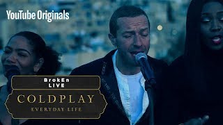 Gambar cover Coldplay - BrokEn (Live in Jordan)