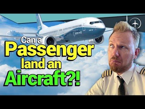 How YOU can land a passenger aircraft! 12 steps