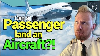 How YOU can land a passenger aircraft! 12 steps