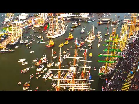Port of Amsterdam - Timelapse SAIL 2015  - Drone Addicts