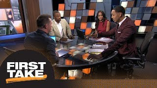 First Take reacts to DeMarcus Cousins signing with Golden State Warriors | First Take | ESPN