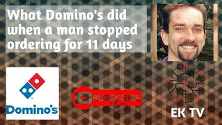 What Domino's did when this man stopped ordering Pizza after 10 years