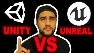 UNITY VS UNREAL ENGINE 4