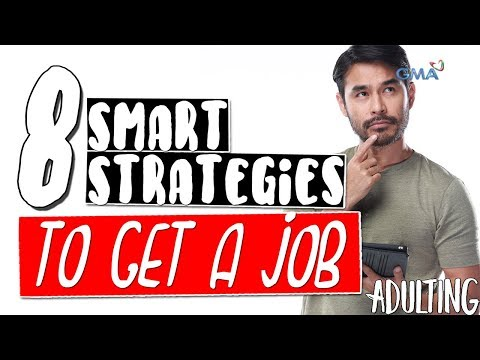 Adulting with Atom Araullo: 8 smart strategies to get a job