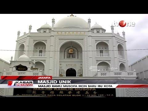 Mirip Taj Mahal Di India, Mualaf Keturunan Tionghoa Bangun Masjid Unik Di Jakarta | Tvone