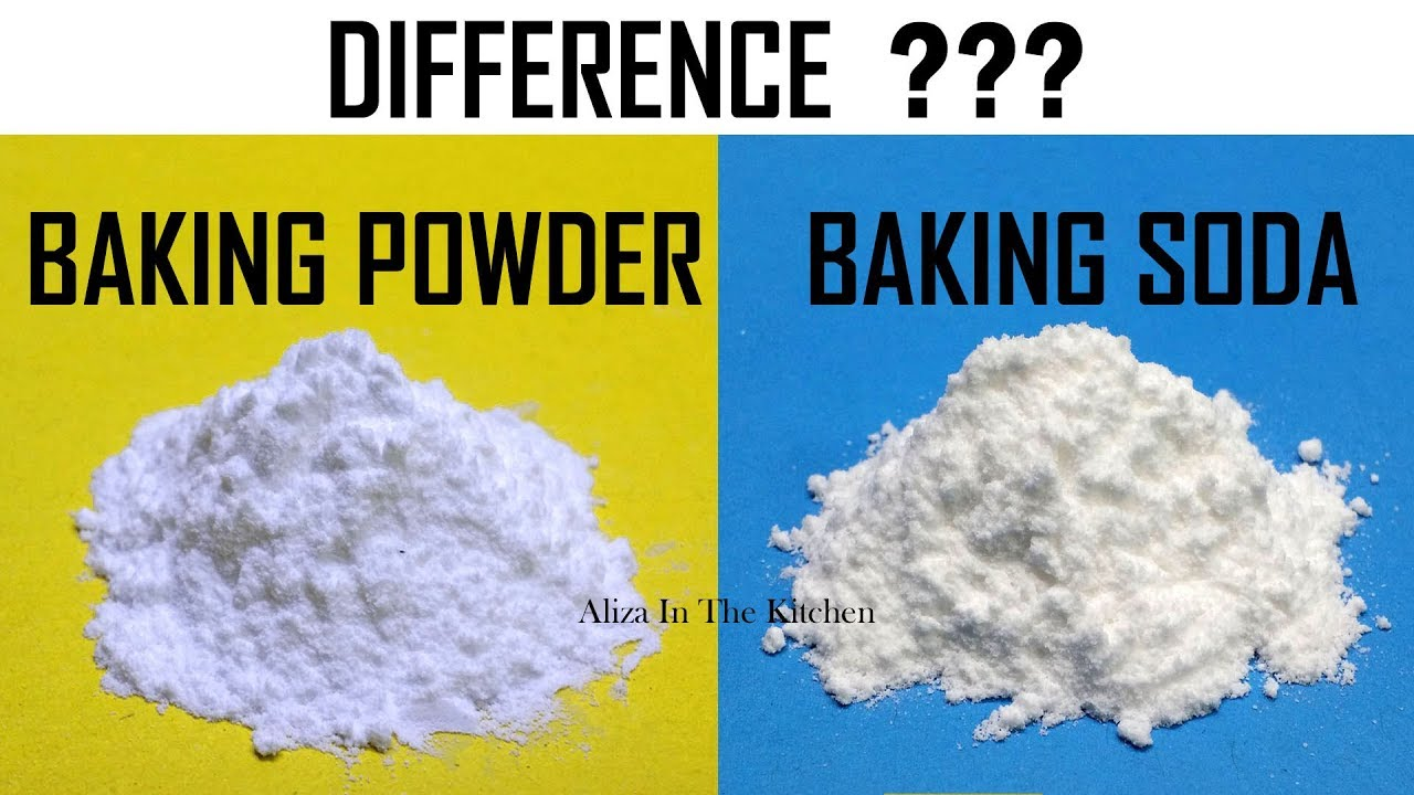 Difference between Baking Soda and Baking Powder - Aliza In The Kitchen