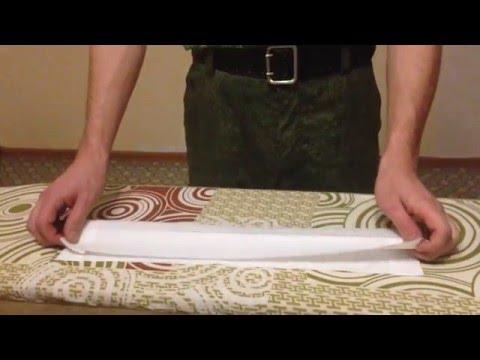 Как правильно делать подшиву