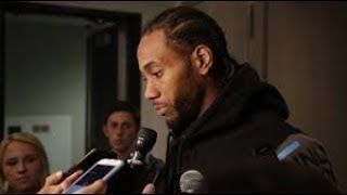 KAWHI LEONARD MAKES IT CLEAR AGAIN HE WANTS TO SIGN WITH THE LAKERS; NO 1 YEAR RENTALS! (REPORT)