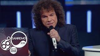 """Gambar cover Sanremo 2019 - Riccardo Cocciante interpreta la sua """"Margherita"""" con Claudio Baglioni"""