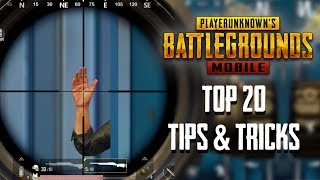 Top 20 Tips & Tricks in PUBG Mobile | Ultimate Guide To Become a Pro thumbnail