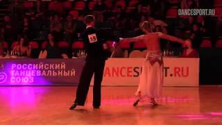 Харламов Олег - Благодырева Анна, English Waltz, American Smooth, Чемпионат РТС 2019