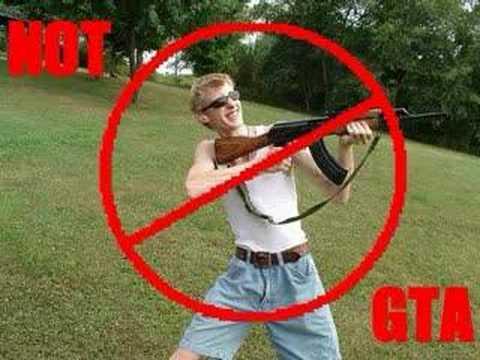 GTA, not GTA