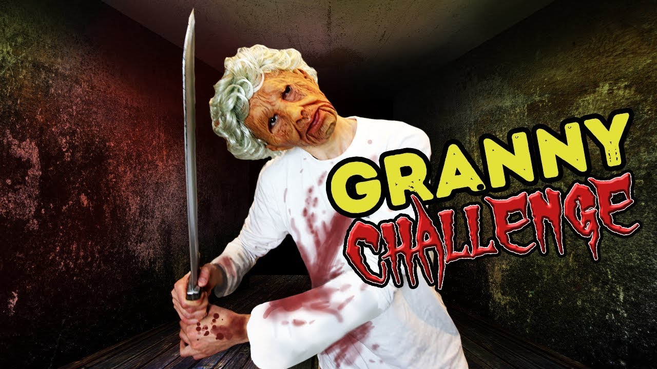 Granny Horror Game In Real Life Hide From Granny