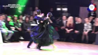 2016 KOREA OPEN BALLROOM DANCE CHAMPIONSHIP ASIAN TOUR Liu Ya & Wang Yi Xi (CHINA)