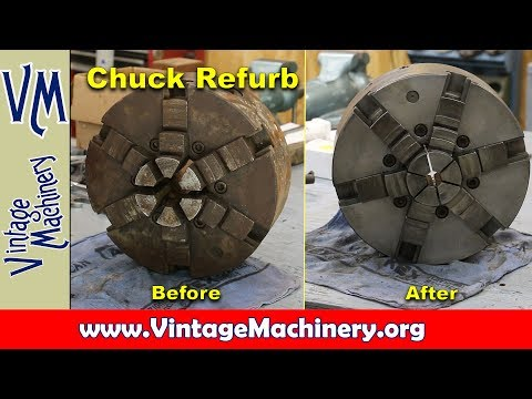Refurbishing Lathe Chucks