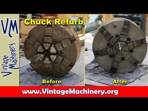 Refurbishing Lathe Chucks