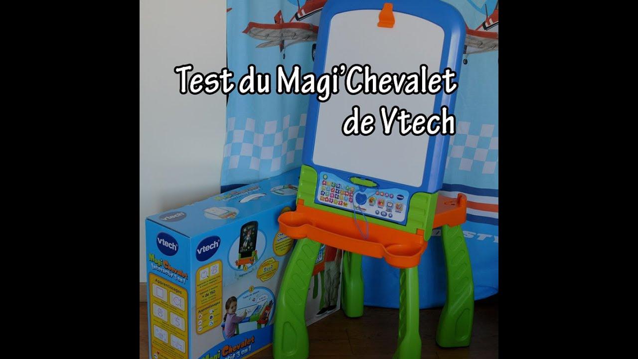 Test du magi chevalet de vtech youtube for Bureau 3 en 1