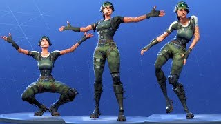 Fortnite TRAILBLAZER Performs All Dances - All SEASON 1-4 Dance Emotes [Twitch Prime Pack 2]