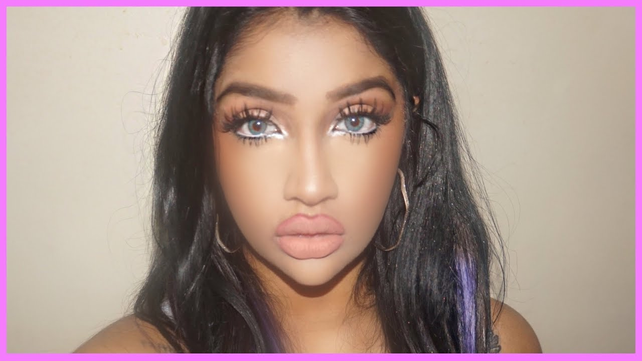 Bratz Doll Makeup Tutorial Big Eyes And Glowing Skin You