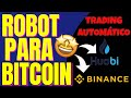 Binance Trading bot  500 $ Daily  Bitcoin & Ethereum  2019