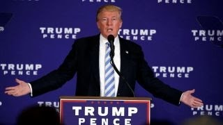 Donald Trump begins his 2016 closing argument in Gettysburg