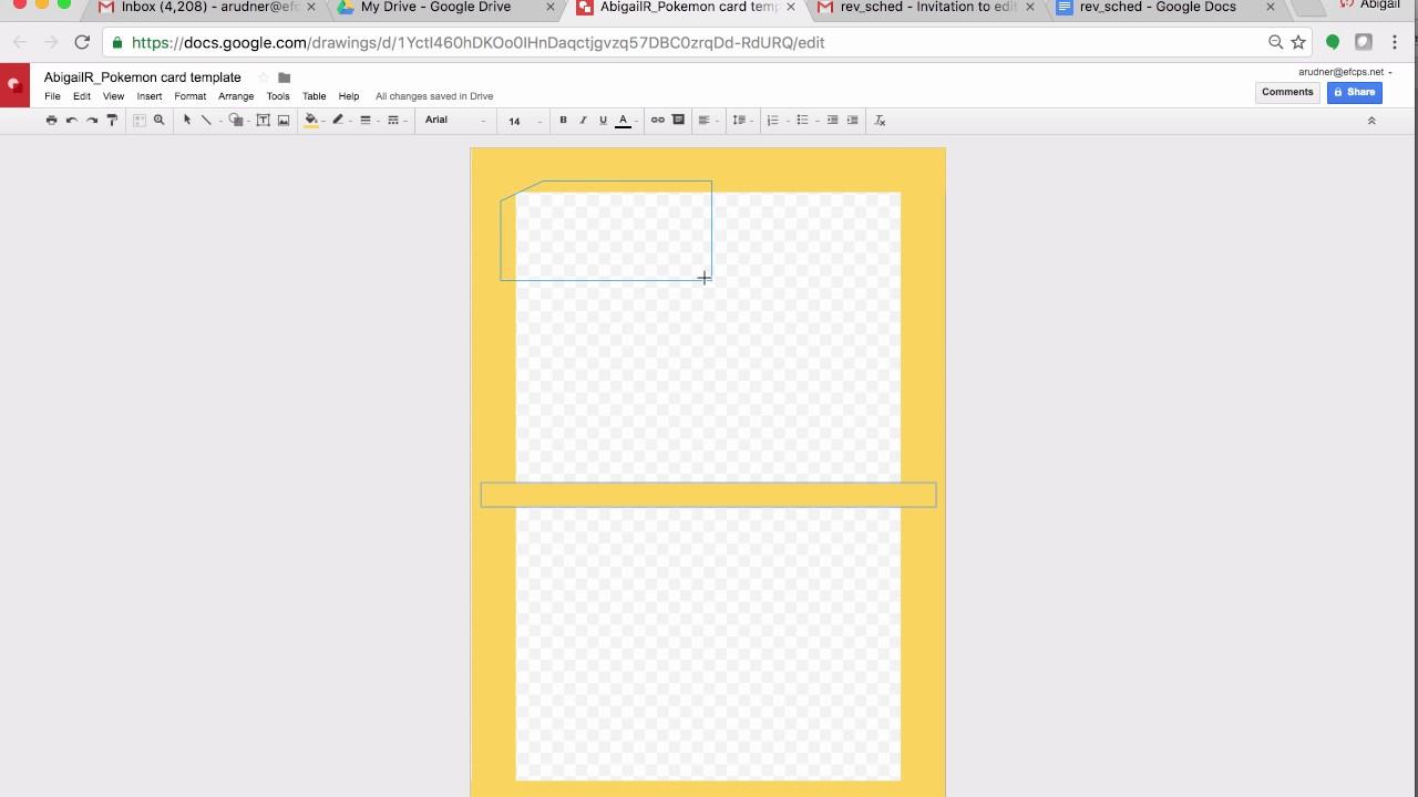Pokmon Howl Card Frame Google Draw Youtube