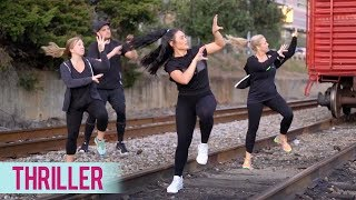 Michael Jackson - Thriller (Dance Fitness with Jessica)