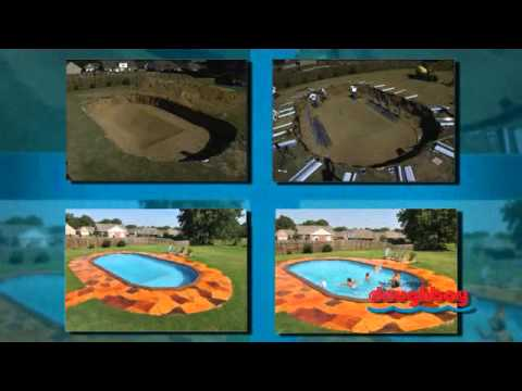 Can A Doughboy Above Ground Pool Really Be Installed In Ground Youtube