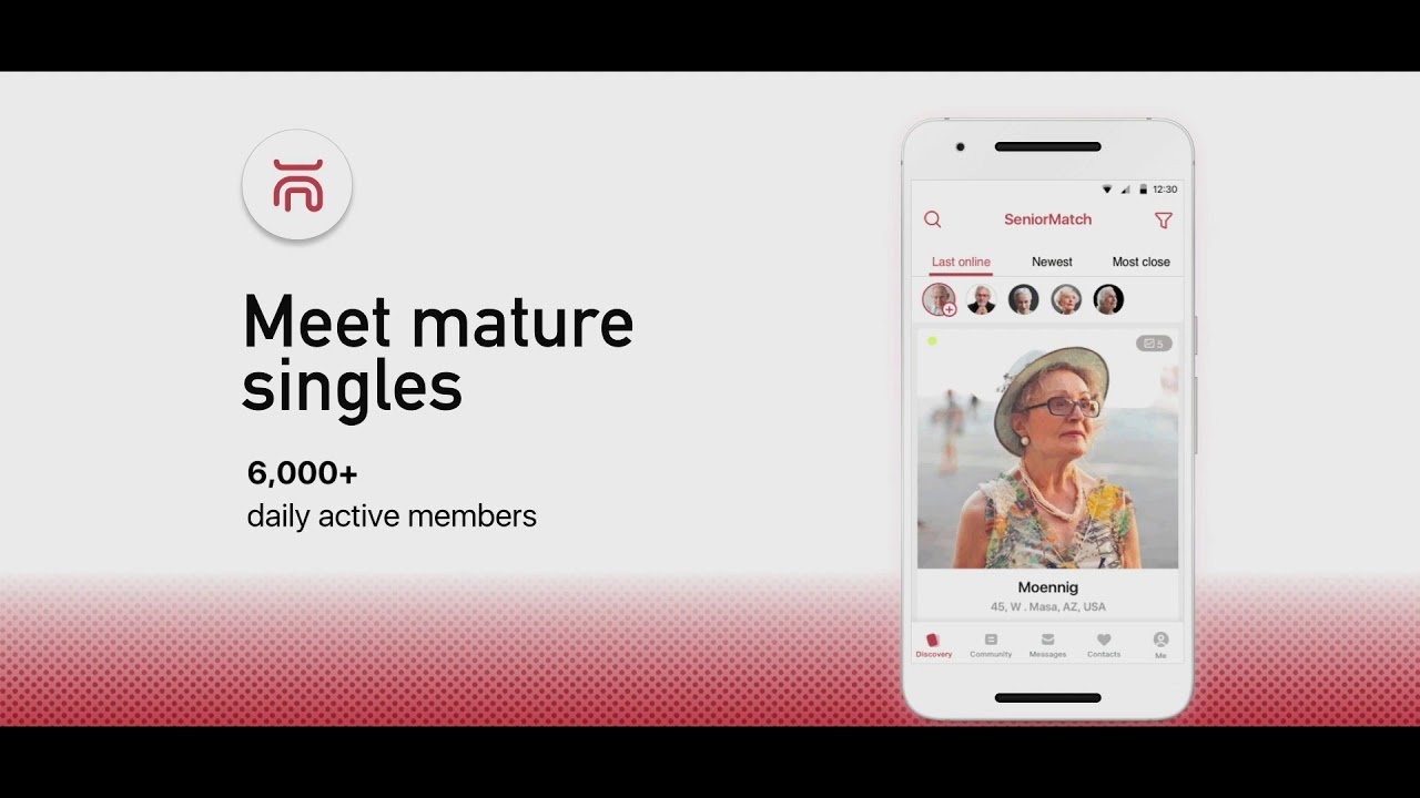 Senior Match: Meet Senior Mature People - by SeniorMatch com