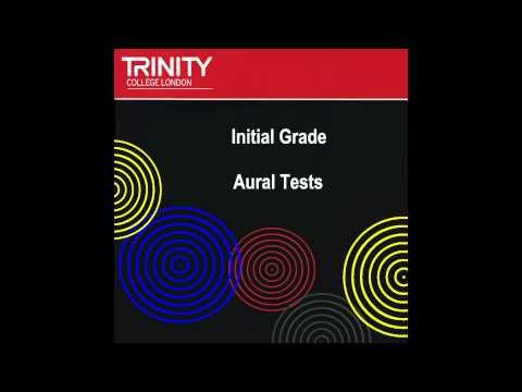 Trinity Initial Grade Sample Aural tests