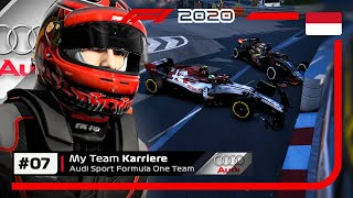 F1 2020 AUDI MYTEAM KARRIERE Part 7: 2 SAFETY-CARS, VIELE CRASHES & GANZ VIEL ACTION!