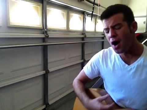 Christina Aguilera - Best of Me - Live Acoustic Cover by Brad Kirsch