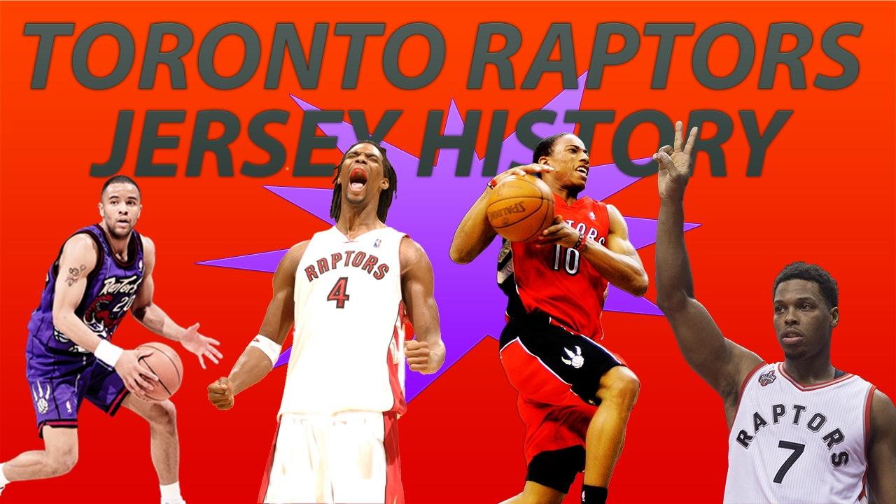 online store af78f 116b6 NBA Uniform History | Toronto Raptors Jerseys