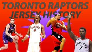 NBA Uniform History   Toronto Raptors Jerseys