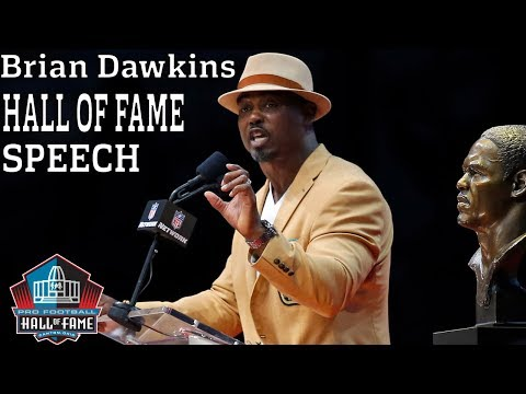 Brian Dawkins FULL Hall of Fame Speech | 2018 Pro Football Hall of Fame | NFL
