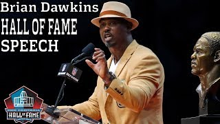 Brian Dawkins FULL Hall of Fame Speech