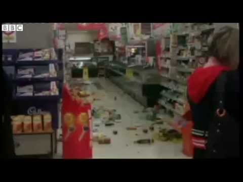 New Zealand EARTHQUAKE 6 9 Mag Eyewitness Accounts of Damages Video