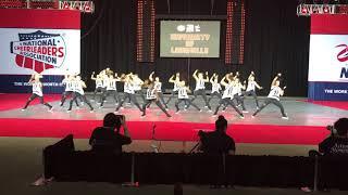 Louisville Ladybirds 2018 Hip Hop prelims National Champions
