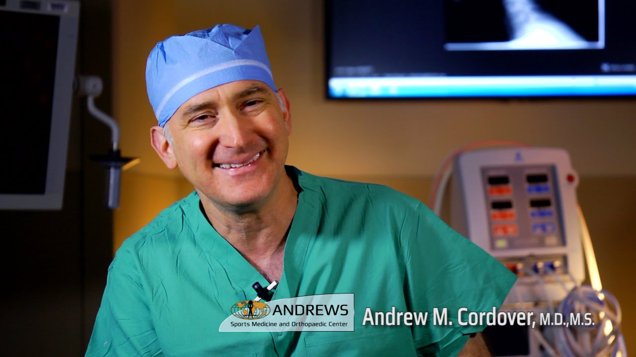 Dr Andrew M Cordover Md Ms Andrews Sports Medicine